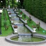Wasserlauf im Botanischen Garten Köln - Flora
