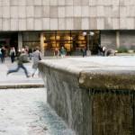 Springbrunnen auf dem Roncalliplatz