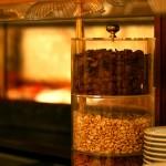 Verschiedene Cerealien auf dem Buffet.
