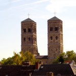 Blick auf St. Heribert