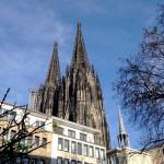Der Kölner Dom ist überall zu sehen