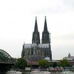 Blick auf den Kölner Dom und Musical Dom