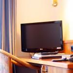 Schreibtisch - Zimmerausstattung im Hotel Ilbertz