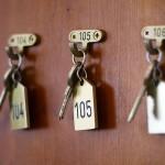 Zimmerschlüssel vom Hotel Ilbertz